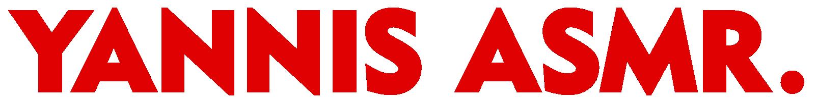 YANNIS ASMR