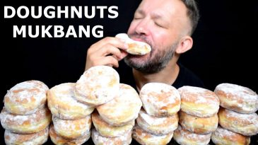 20-JELLY-DOUGHNUT-CHALLENGE-ASMR-MUKBANG-BINGE-FAILED-DESSERT-EATING-SHOW-NO-TALKING-1