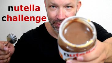 NUTELLA-JAR-CHALLENGE-400GR-ASMR-MUKBANG-NO-WATER-NO-TALKING-1