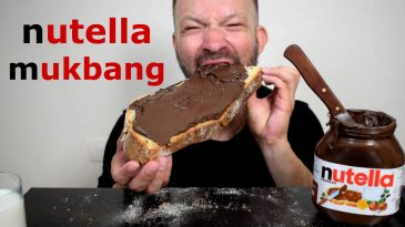 NUTELLA-BREAD-SPREAD-ASMR-MUKBANG-SAVAGE-EATING-NO-TALKING-1