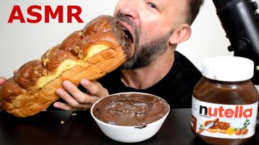 VOICE-REVEAL-ASMR-NUTELLA-HUGE-EASTER-BRIOCHE-MUKBANG-BINGE-TALKING-DIPPING-DESSERT-GULPING-1